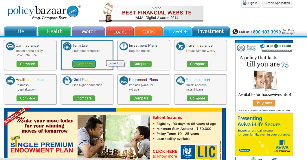 case study life insurance marketing in india