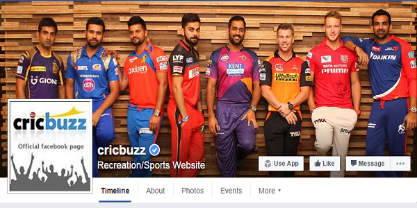 cricbuzz facebook