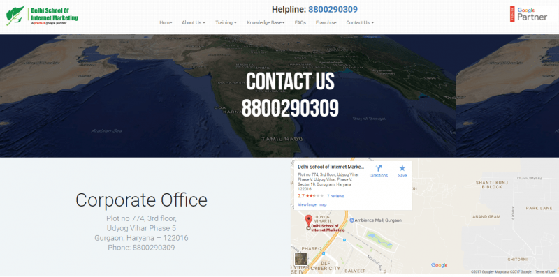 Best Secrets To Building An Amazing Contact Us Page - How to add google map in contact us page