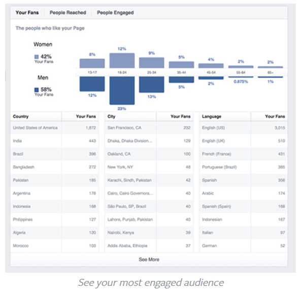 how to find who has liked your facebook business page