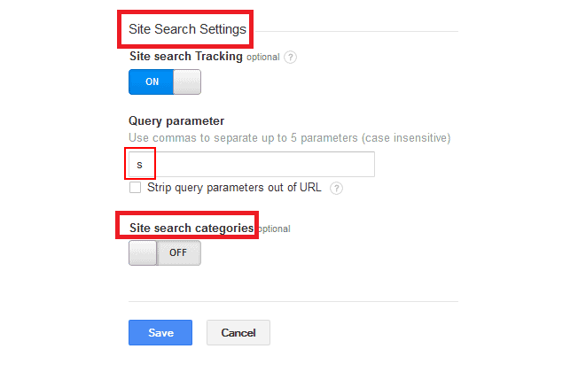 Site Search Reports